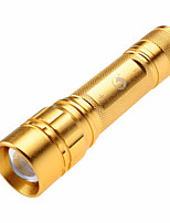 U`King® LED Flashlights/Torch LED 600LM Lumens 3 Mode - 18650 Adjustable Focus / Compact SizeCamping/Hiking/Caving / Hunting /
