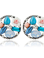 1pair/Blue Stud Earrings forWomen