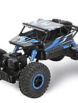Passeggino Da corsa 4WD 1:18 Elettrico senza spazzola RC Auto 50KM/H 2.4G Rosso / Blu Pronto all'usoAuto di controllo remoto /