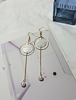 Earring Others Drop Earrings Jewelry Women Fashion Daily Cowry 1 pair Gold