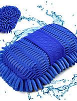 2 Pcs Large Car Cleaning Sponge Coral Car Wash Glove Box
