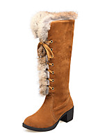 Women's Boots Fall / Winter Platform Leatherette Outdoor / Office & Career / Athletic