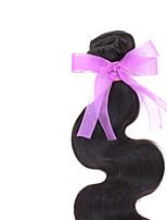 1 Pièce Ondulation naturelle Tissages de cheveux humains Cheveux Brésiliens Tissages de cheveux humains Ondulation naturelle