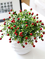 Hi-Q 1Pc Decorative Flower  Bacca Wedding Home Table Decoration Artificial Flowers