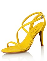 Women's Shoes Leather Heels / Sandals / Styles Sandals Wedding / Party & Evening / Dress Stiletto Heel Others