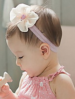 Korean Flower Girl's  Bow Fabric Headbands