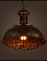 American Retro Industrial Light Antique Lampshade Bar Top Restaurant Cafe Do Old Color Single Head Droplight