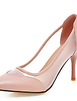 Women's Heels Spring / Summer  / Pointed Toe  Wedding/Dress / Casual Stiletto Heel Stitching  / Split Joint