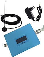 LCD Display GSM 900MHz Mobile Phone Signal Repeater Booster Amplifier with Whip and Sucker Antennas Blue