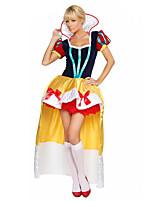 Costumes Déguisements de princesse Halloween / Noël / Carnaval Rouge / Jaune Vintage Térylène Robe