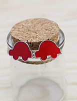 Earring Others,Jewelry 1 pair Fashionable Alloy Red Daily / Casual
