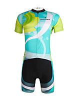 PaladinSport Men 's Cycyling Jersey + Shorts Suit DT648 Operation 100% Polyester