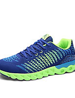 Unisex Sneakers Spring / Fall Comfort Fabric Casual Flat HeelBlue / Green / Red / Gray Walking
