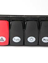automóvil interruptor de botón combinado