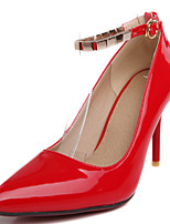 Women's Shoes Stiletto Heel Pointed Toe Ankle Strap Pump More Color Available