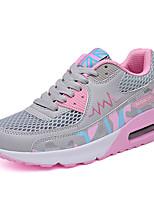 Dame-Tyll-Flat hæl-Rund tå-Sneakers-Friluft / Fritid / Sport-Blå / Rosa / Grå