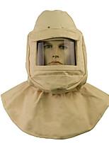 Safety Helmet With Blasting Cap Canvas Hood Mask Sand Blasting Caps