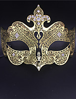 Majestic Laser Cut Venetian Queen Mask with Rhinestones3001A3
