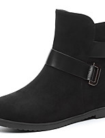 Women's Boots Fall Riding Boots Leatherette Office & Career / Dress / Casual Flat Heel Others Black / Blue Others