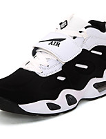 Unisex Sneakers Spring / Fall Round Toe PU Outdoor / Athletic Flat Heel Lace-up Blue / Black and White / / Sneaker