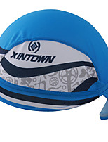 Bandana Bike Breathable / Limits Bacteria / Sweat-wicking / Sunscreen Unisex Blue Terylene