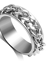 Ring Fashion Wedding / Party Jewelry Alloy Women Statement Rings 1pc,6 / 7 / 8 Silver