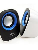 Notebook Computer Audio,USB 2 Small Speakers, Cute Mini Q Car Speakers