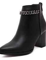 Mujer / Para Niña-Tacón Robusto-Tacones / Innovador / Gladiador / Pump Básico / Botas a la Moda-Zapatos de taco bajo y Slip-Ons-Boda /
