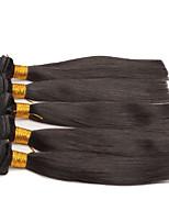 4 Pièces Droit (Straight) Tissages de cheveux humains Cheveux Eurasiens Tissages de cheveux humains Droit (Straight)