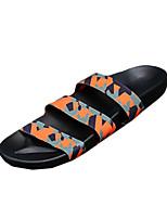 Черный / Белый / Несколько цветов / Оранжевый / Пастельный-Мужской-На каждый день-Шёлк-На плоской подошве-На плокой подошве-На плокой