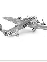 Puzzles 3D - Puzzle Bausteine DIY Spielzeug / 1 Metall Silber Spiel-Spielzeug