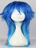 Anime Dramatical Murder DMMD Seragaki Aoba Cosplay Wig Two Tone Blue Ombre Synthetic Hair Women Costume  Party Wigs
