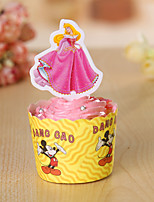 Birthday Party Tableware-1Piece/Set Cake Accessories Tag Hard Card Paper Rustic Theme Other Non-personalised