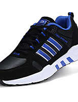 Men's Sneakers Spring / Fall Comfort Fabric Casual Flat Heel  Blue / Red / White Walking