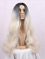 1b / rubia de color ombre mujeres onda largas pelucas para las mujeres negras calentar pelucas resisten