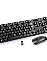 NK3500 1000Dpi Wireless Waterproof Game Keyboard & Mouse Suit