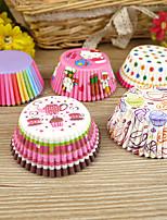 Emballages Muffins-Cupcake Parti Vaisselle Anniversaire rustique Theme Other Non personnalisé Papier cartonné Plusieurs Couleurs