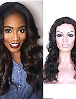 7а перуанские девственные тела человеческих волос волны и частей фронта шнурка парики для женщин средней части париков фронта шнурка