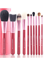 12Pcs Makeup Brush Brush Cylinder Suit Wool Brush Sets Makeup Tools