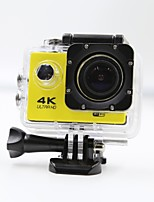 Sports Camera 4K  WIFI Waterproof Action Camera High Defenition 2.0 Inch Sports DV 360 Degree Sport Camera Yellow