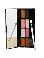 8 Color Palette Waterproof Eyeshadow Box