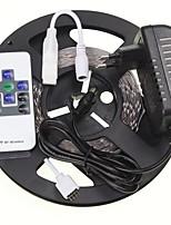 5m 16.4ft rgb 300x5630 SMD LED ha condotto la luce strisce + 10 chiave rf 12v alimentazione 2a AC100-240V