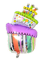 Plastica Decorazioni di nozze-1Piece / Set Palloncini Compleanno Rustico Tema Viola Primavera Non personalizzato Colore casuale