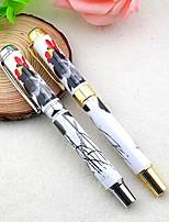 el verdadero metal de cerámica pluma de salpicaduras de tinta china antigua literatura y el arte