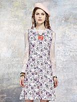 Coeur Soul® Femme Col Arrondi Sans Manches Genou Robes-OW15-1056