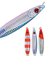 2pcs/lot Afishlure Metal Jigging Plate Lead Jig 60g Lead Fishing Lure Sea Fishing Saltwater Fishing