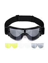 анти воздействия и анти ветра защитные очки (три части офтальмологической линзы)