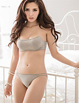 Full Coverage Bras & Panties Sets,Adjustable Cotton