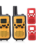 PMR 446MHZ Walkie Talkie for Kids changeable plastic(2PCS Free) Output 0.5W 8Channels Up to 3KM-5KM AAA Alkaline Battery