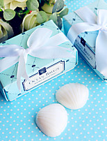 Bridesmaids / Bachelorette / Beter Gifts® Recipient Gifts - Shells Soap Wedding Bridal Tea Party Favors
